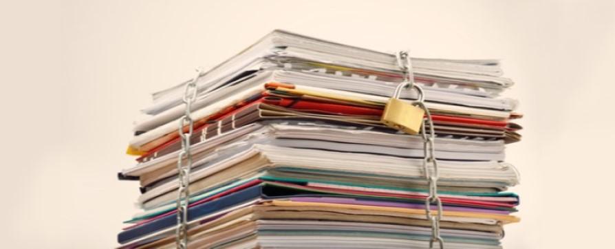 Custodia de la documentación